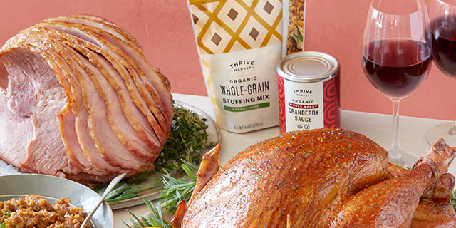 Thrive Market Thanksgiving Boxes Available Now + Coupon