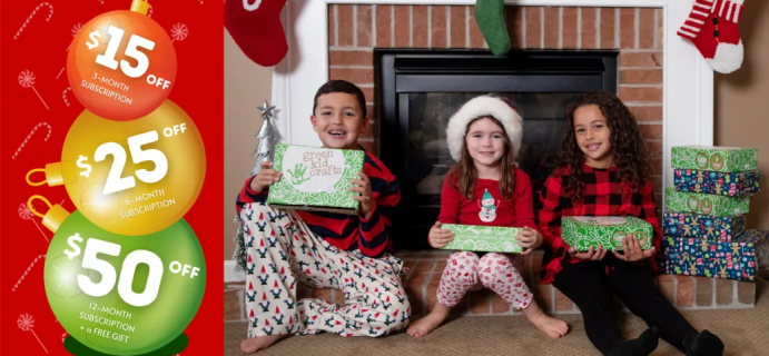 Green Kid Crafts Holiday Coupon: Get Up To $50 Off!