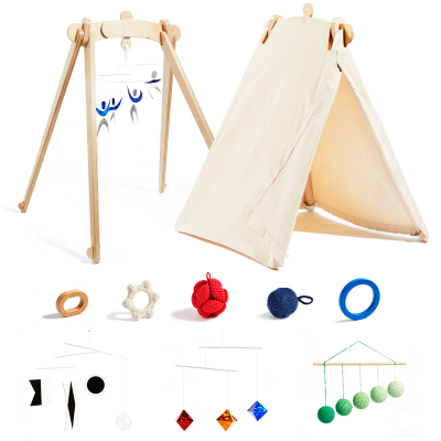 Monti Kids Limited Edition Montessori Activity Gym + Play Tent Bundle Available Now!