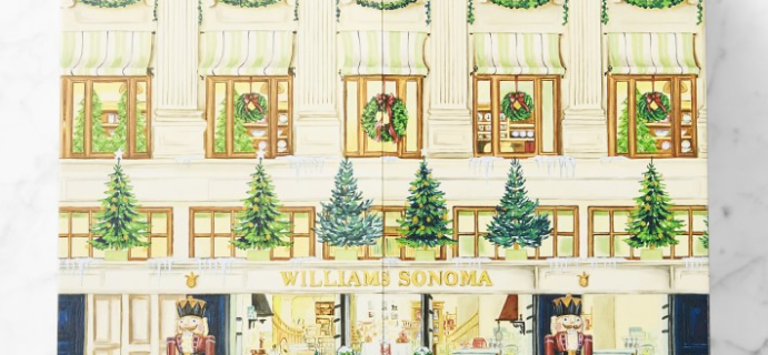 2020 Williams Sonoma Chuck's Luxury Advent Calendar Available Now!