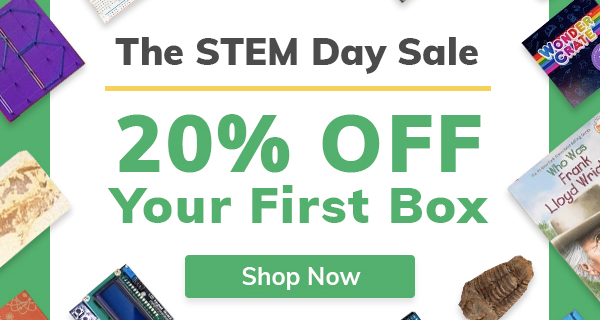 Cratejoy Sale: Save 20% on STEM Subscription Boxes for Kids!