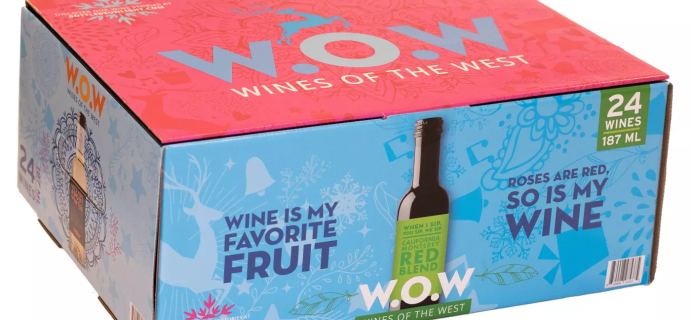 2020 Target W.O.W Wines of the West Advent Calendar Available Now!