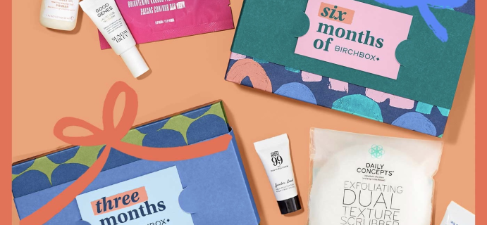 Birchbox Before Black Friday Coupon: Get $25 Bonus Credit with Gift Subscription + 20% Off!