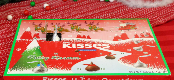 2020 HERSHEY'S Kisses Chocolate Holiday Advent Calendar Available Now!