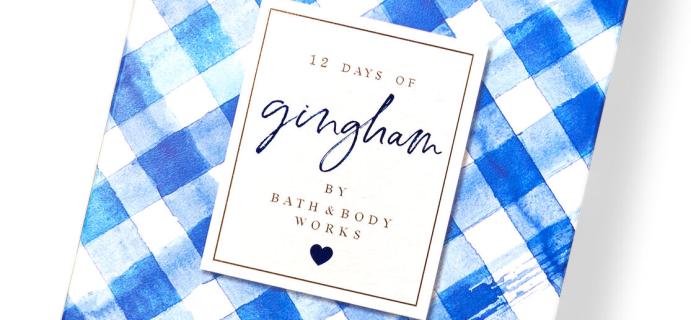 Bath & Body Works Advent Calendar Available Now!