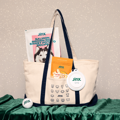 Jinx Limited Edition Weekender Bag & Treats Tote Available Now!
