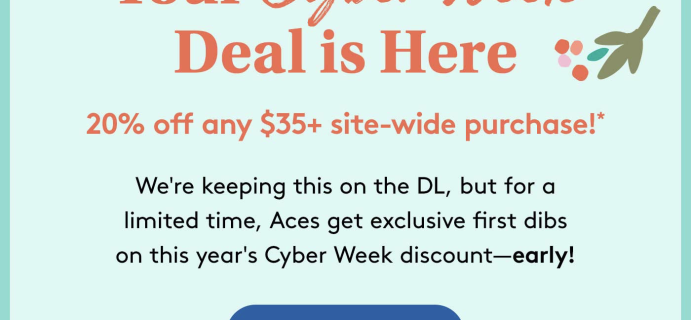 Birchbox Grooming Black Friday Sale: Aces Take 25% Off Now!