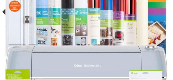 Cricut Coupon: Cricut Explore Air 2 + Everything Bundle + Access Subscription $270.98 Shipped!