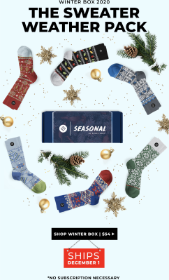 Sock Fancy Winter 2020 Seasonal Box Full Spoilers!