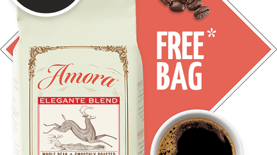 Amora Coffee Coupon: FREE Bag of Coffee – $1 Shipped!