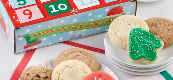 Cheryl's Cookie Advent Calendar Available Now!