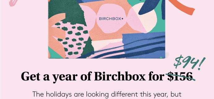 Birchbox Best Deal Ever: 40% Off Annual Subscription!