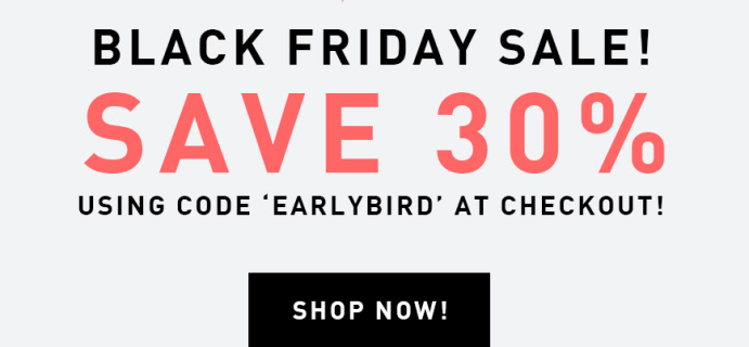 Leaf and Clay Black Friday Sale: Get 30% Off!