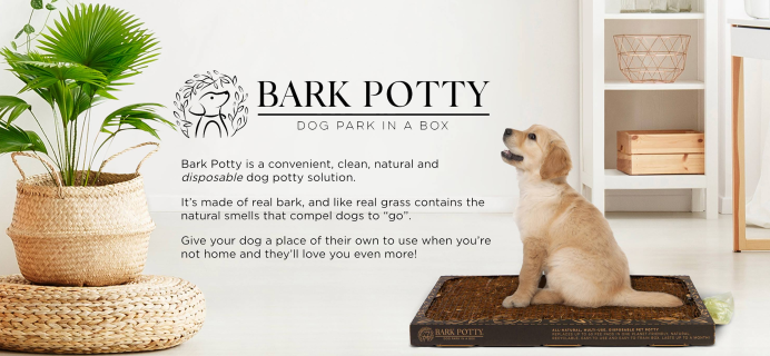 Bark Potty Black Friday Deal: Save 20% on your first order + FREE SHIPPING!