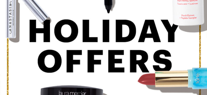 Allure Beauty Box Holiday Deals: FREE Holiday Gift Bundle with Subscription!
