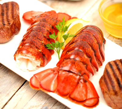 Lobster Anywhere Holiday Deal: Lobster Tails Special with Free Express Delivery!