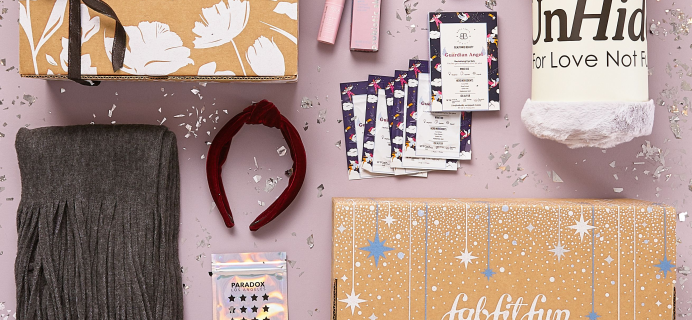 FabFitFun Cyber Monday Deal EXTENDED: Get FREE Bonus Box With Subscription!