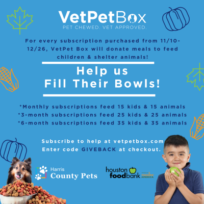 VetPet Box Holiday Offer: Make Meal Donations With Every New Subscription!