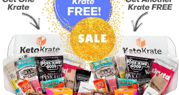 KetoKrate Black Friday Sale: Buy One, Get One FREE!