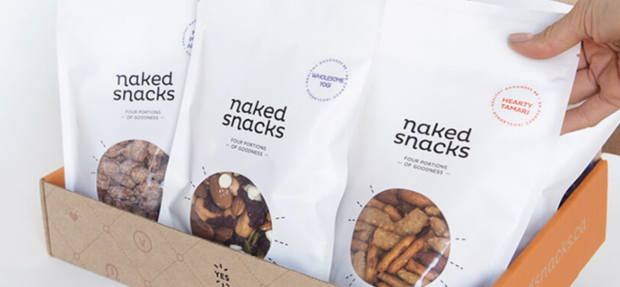 Naked Snacks Black Friday & Cyber Monday Deal: Save 25% On First Box!