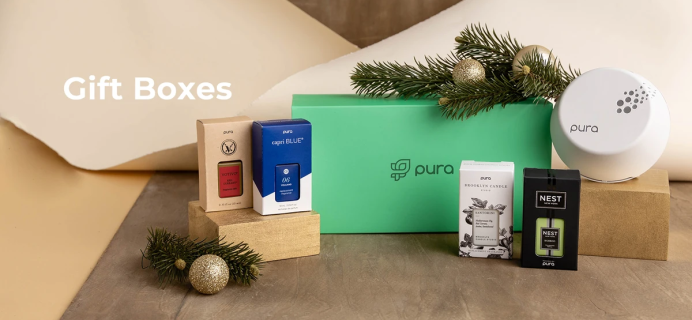 Pura Fragrance Holiday Gift Boxes Available Now + Coupon!