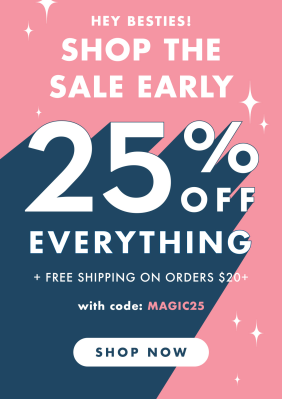 Olive & June Black Friday Sale: Get 25% Off EVERYTHING!