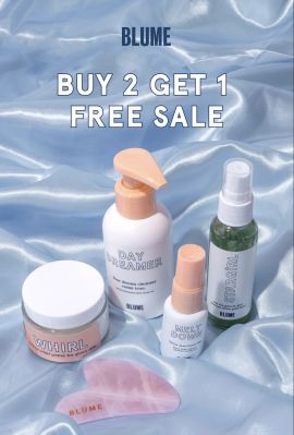 Blume Black Friday Sale: Buy Any 2 Blume Products, Get 1 Free!