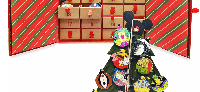 2020 Disney Pin Advent Calendar Available Now + Spoilers!