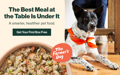 The Farmer's Dog Cyber Monday Deal: Get your first box HALF OFF!