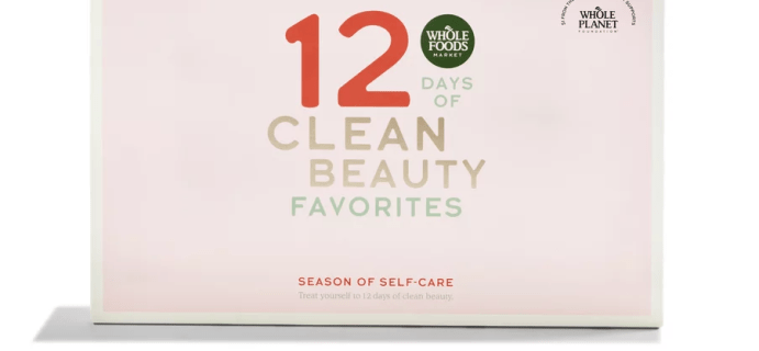 2020 Whole Foods Clean Beauty Advent Calendar Spoilers – Coming Soon!
