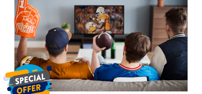 Try Sling TV: Stream Your First Month For Just $10!