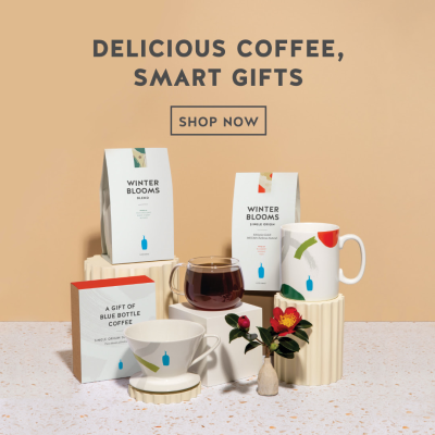 Holiday Gift Idea: Blue Bottle Coffee Winter Blooms Collection Available Now + FREE Trial Coupon!