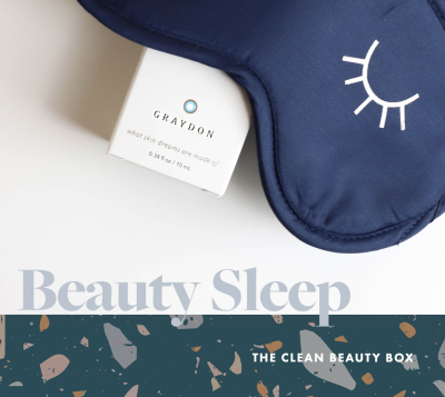 The Clean Beauty Box Limited Edition Beauty Sleep Box Available Now + Full Spoilers!