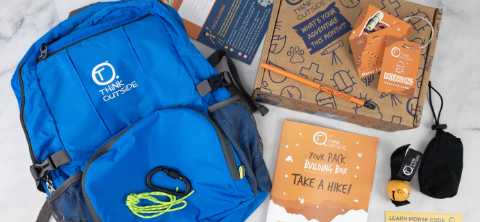 THiNK OUTSiDE BOXES Cyber Monday Deal: Get $20 off your first box + $25 Off Annual Plans + FREE Gifts!