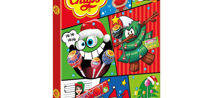 Chupa Chups Advent Calendar Available Now!