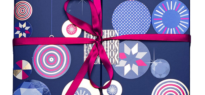 2020 Fauchon Chocolate Advent Calendar Available Now!