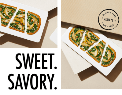 Daily Harvest Pear + Arugula Flatbread Available Now + Coupon!
