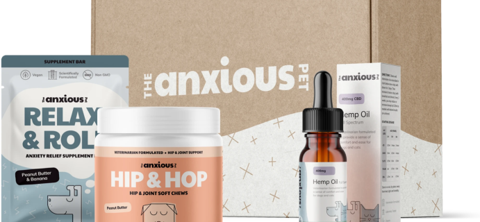 The Anxious Pet Black Friday Deal: Buy One, Get One FREE!