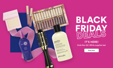 Ulta Cyber Monday Sale: Deals + $10 Coupon + FREE Beauty Bag!