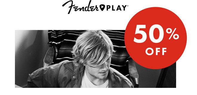Fender Play Black Friday Sale: Get 50% Off!