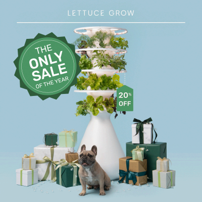 Lettuce Grow Cyber Monday Deal: Get Up To $78 on Farmstands!