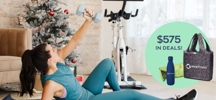 MYX Fitness Cyber Monday Coupon: Get FREE Shipping & Assembly Worth $250 + FREE Holiday Gift Bundle!