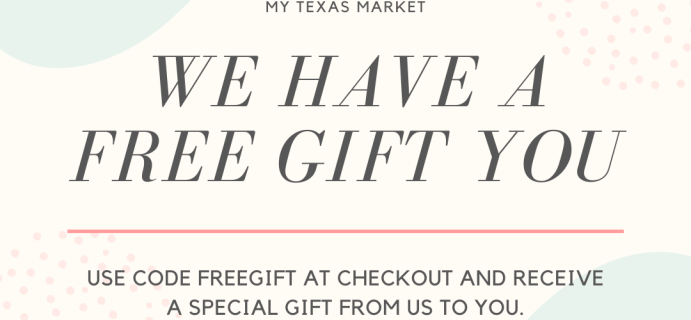 My Texas Market Black Friday Sale: FREE Gift With Subscription!