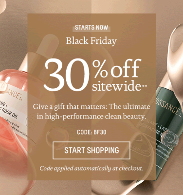 Biossance Black Friday Coupon: Get 30% Off SITEWIDE!