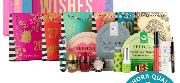 2020 Sephora WILD WISHES After Advent Calendar Full Spoilers – Available Now!