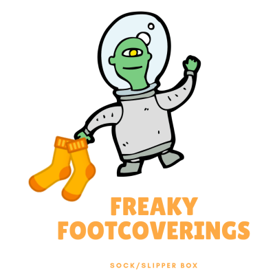 Unboxing the Bizarre Freaky Footcoverings Box Cyber Monday Deal: Get 25% Off!