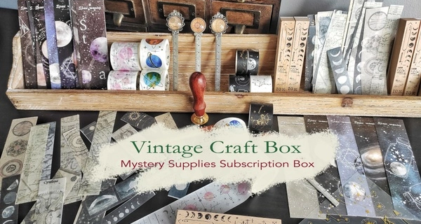 Vintage Craft Box Black Friday Sale: Save 25% on all subscriptions!