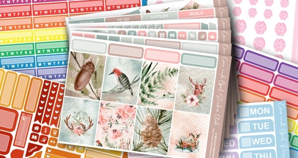 Coco and Opal Design Planner Sticker Subscription Black Friday Coupon: Save 25% on First Month!