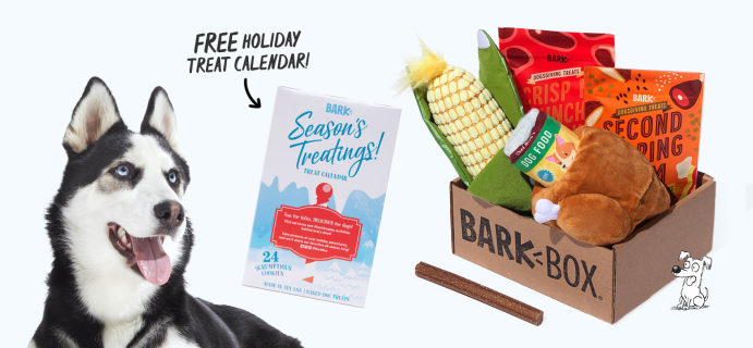 BarkBox Before Black Friday Coupon: FREE Advent Calendar!