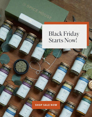 The Spice House Cyber Monday Sale: Save up to 20%!